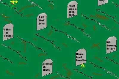 Phone Cemetery