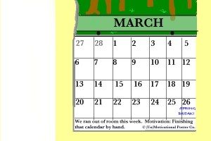 Calendar of March