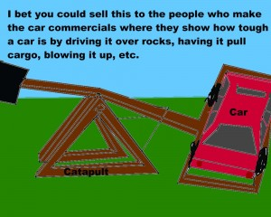 Car-sized Catapult