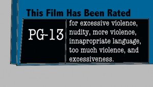 PG 13 rating