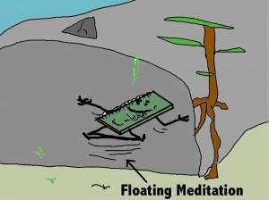 a meditating planner