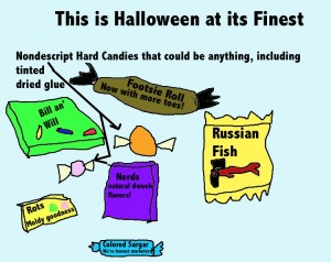 Funny Halloween Candy