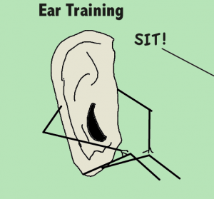 Funny picture of ear training
