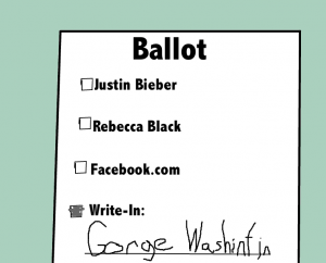 Funny ballot picture.