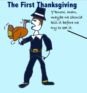 Funny Thanksgiving gag